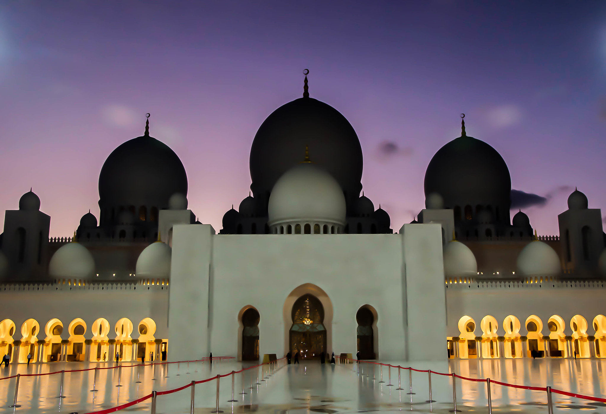 Photograph The Grand Mosque at Dusk by julian john on 500px