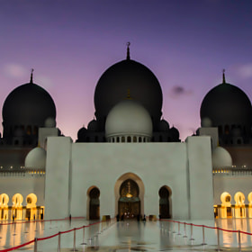 The Grand Mosque at Dusk by julian john (sandtasticdays)) on 500px.com
