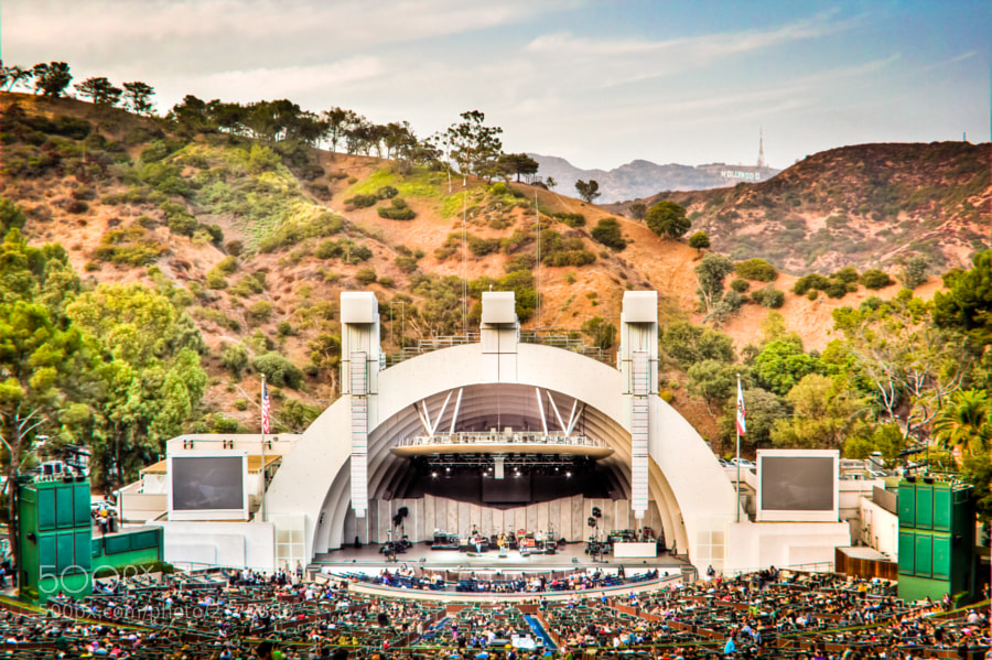 Photograph Hollywood Bowl by Stephen Lee Carr on 500px