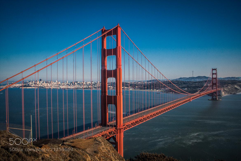 Photograph Golden Gate Bridge by Laurent Meister on 500px