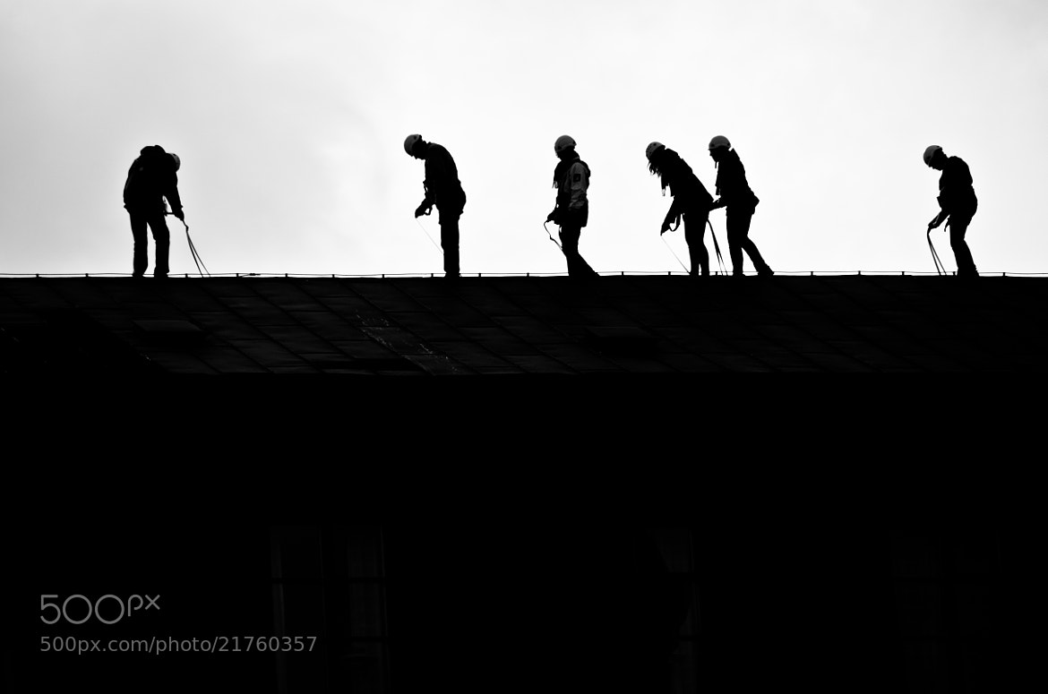 Photograph Enjoying roof hiking by César Asensio Marco on 500px
