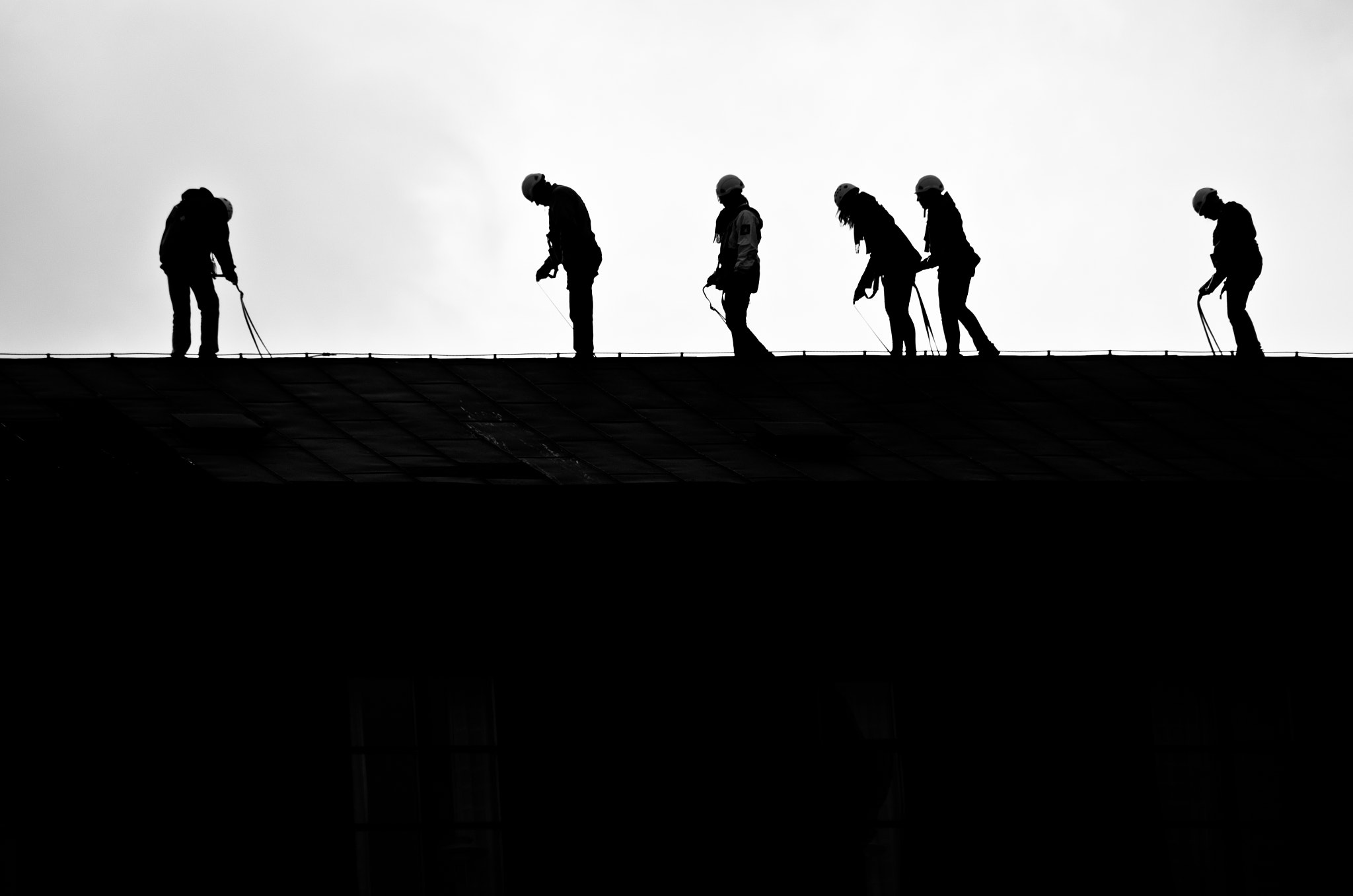 Photograph Enjoying roof hiking by César Asensio on 500px