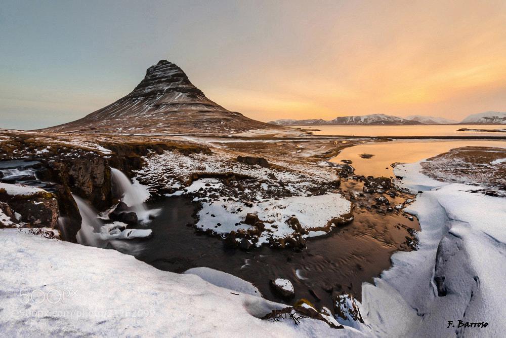 Photograph Amanecer en Kirkjufellsfoss by Florencio Barroso  on 500px