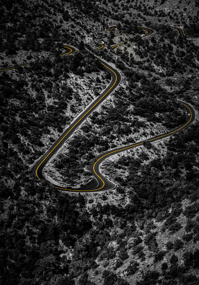 Photograph Follow the Road by Laurent Meister on 500px
