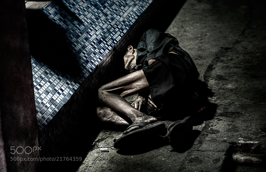 Photograph Tired, Tattered, and Lonely. by Dannie Sorum on 500px