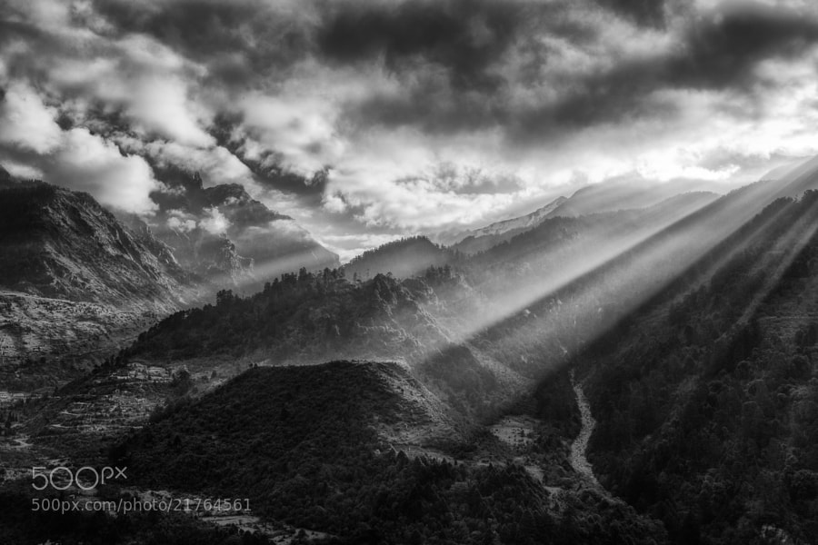 Photograph Clearing Storm by Chaluntorn Preeyasombat on 500px