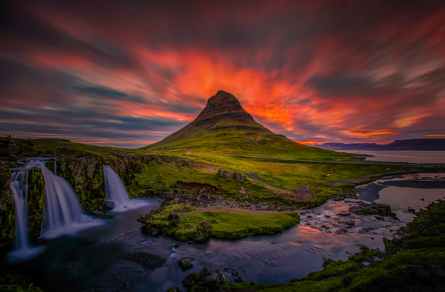 Midnight Sun in Iceland by Angela Chong on 500px.com