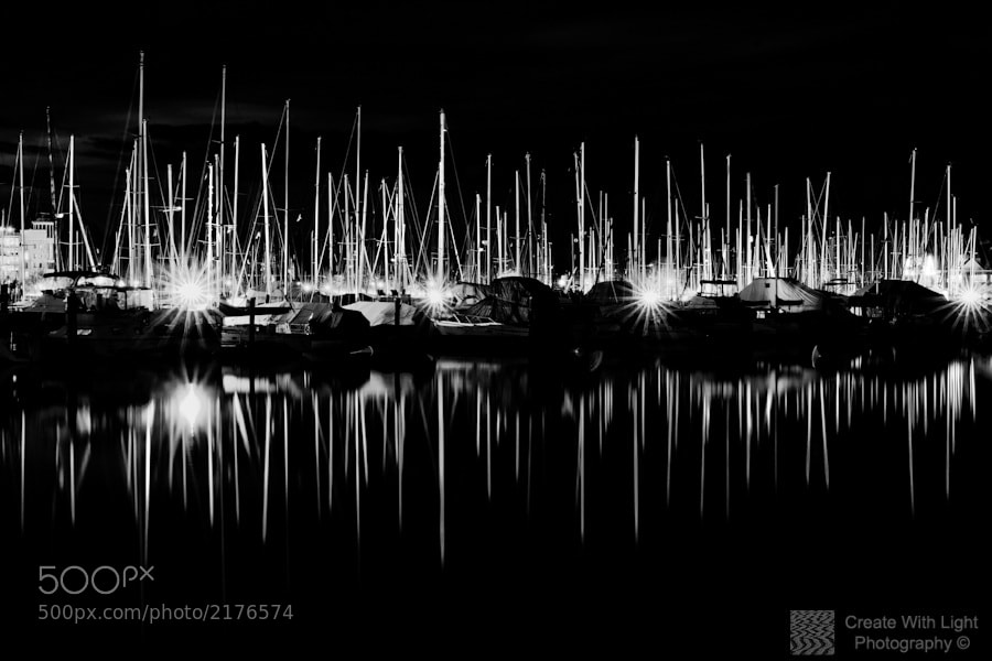 "Photograph ""Ghostly Masts"" by Grant Murray Photography on 500px"