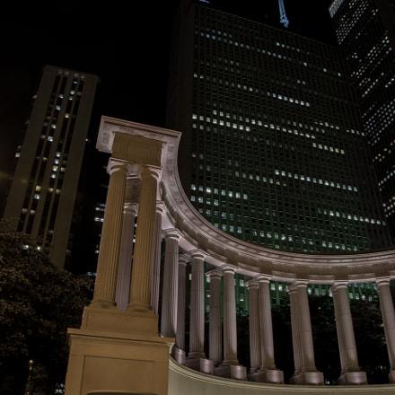 Millenium Park columns