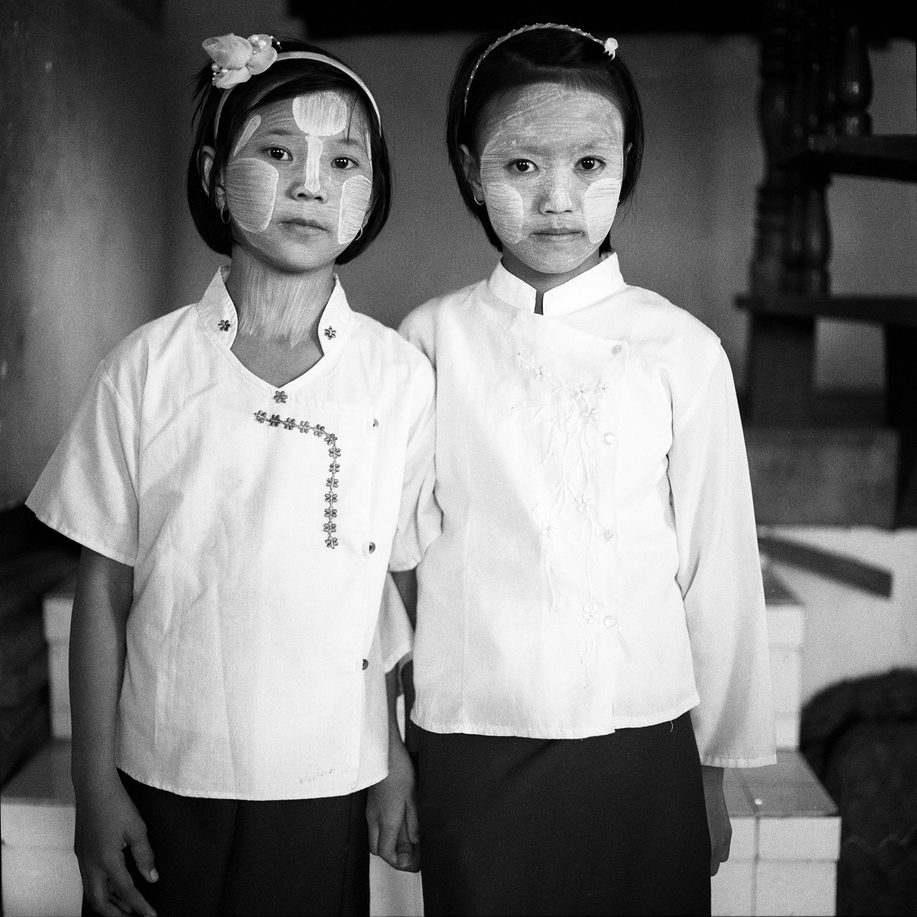 Photograph shan school students, unnamed village by  momofuku on 500px