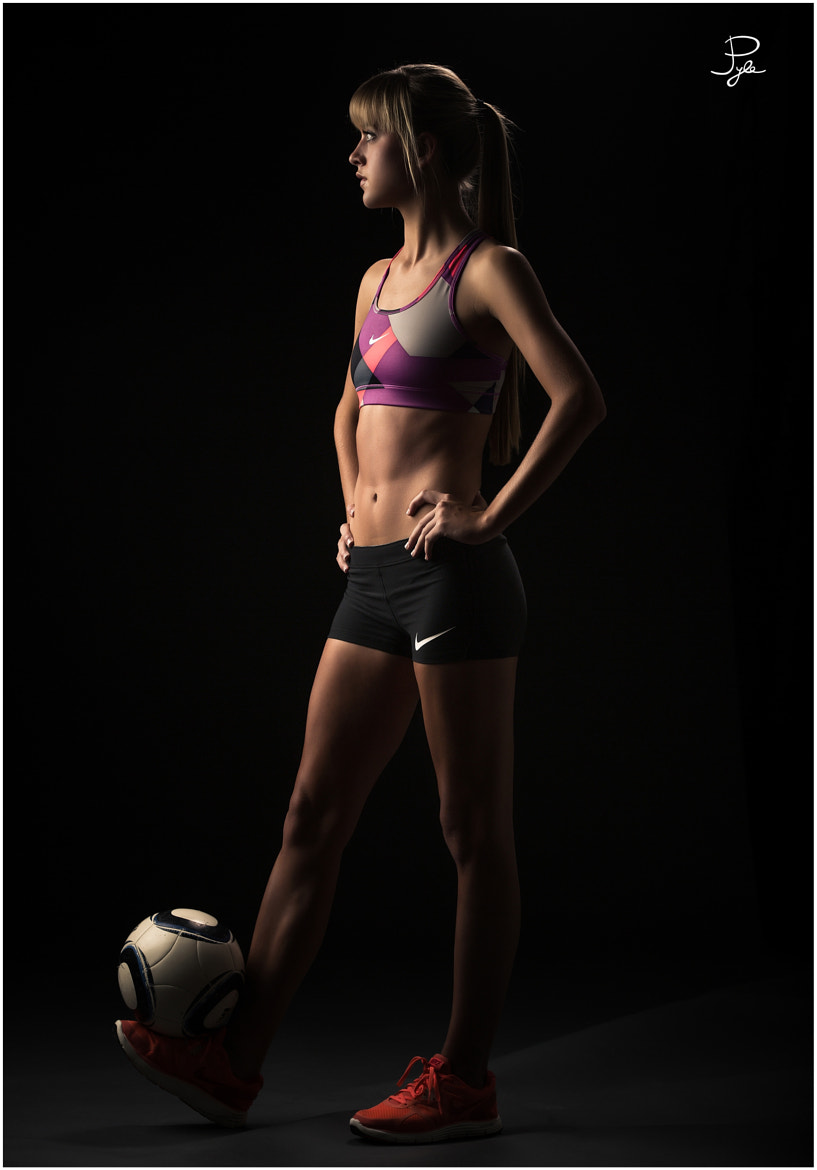 Photograph Soccer girl by John Pyle on 500px
