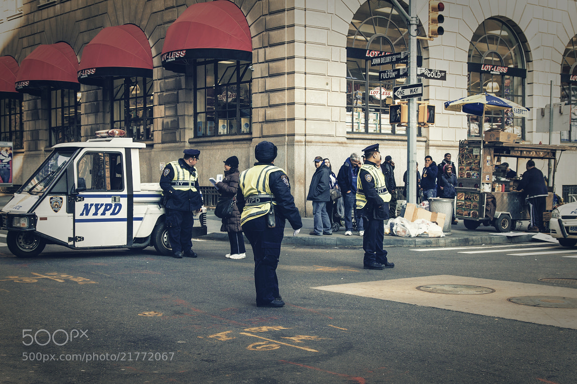 Photograph NYPD by Jan Schättiger on 500px