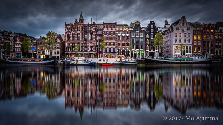 Amsterdam Canal Houses by Mo Ajammal on 500px.com