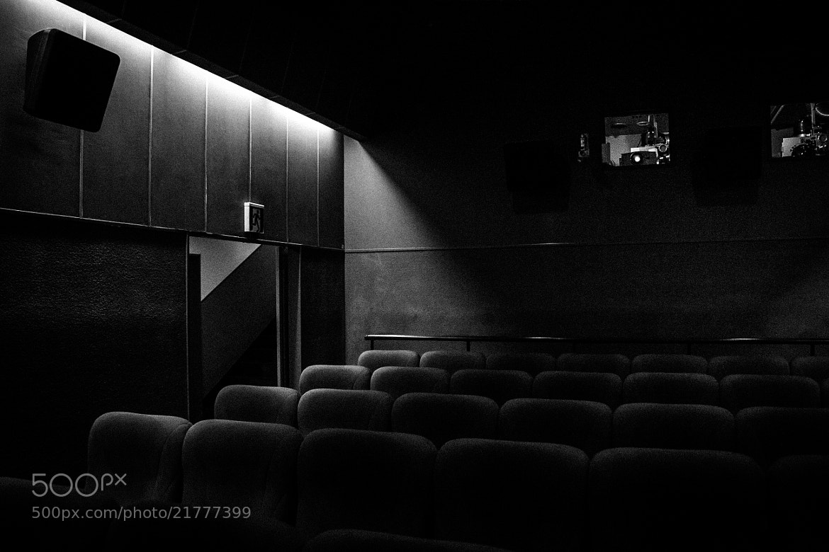 Photograph movie theater by seto_shunsuke on 500px