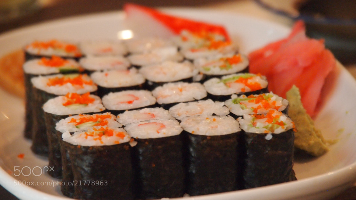 Photograph Sushi by Christian Bauer on 500px