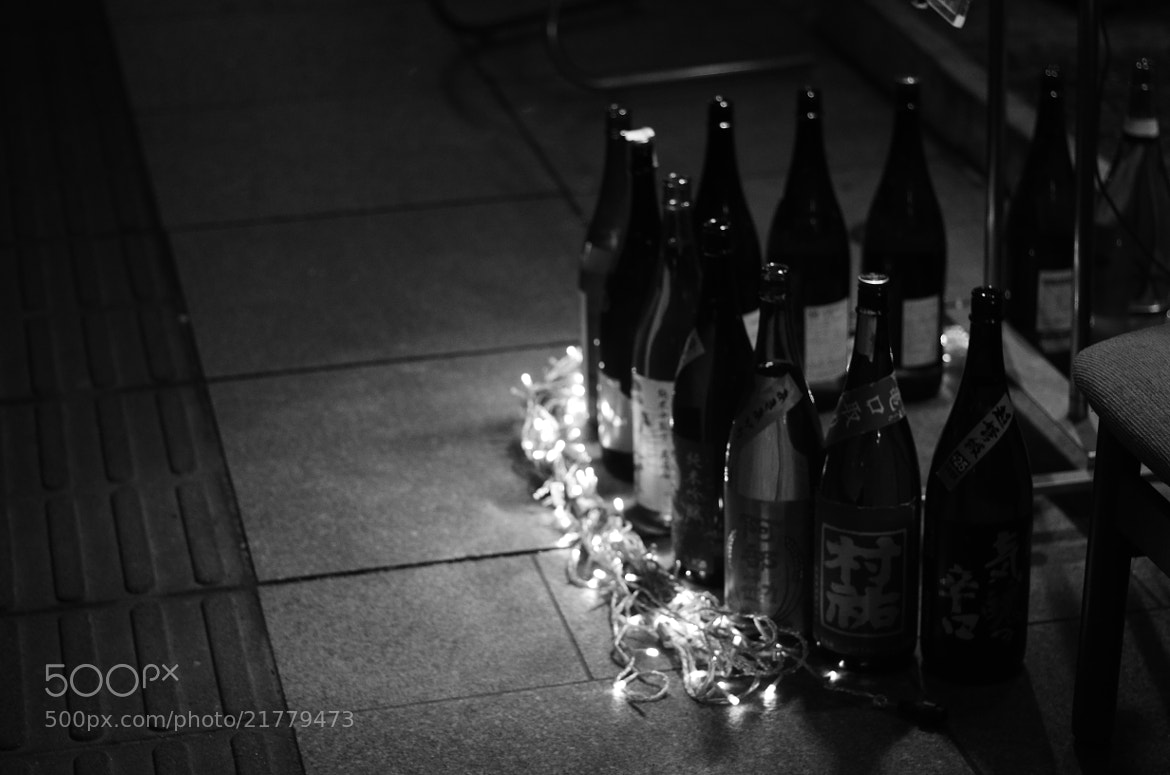 Photograph sake bottles by Sayaka Suzuki on 500px