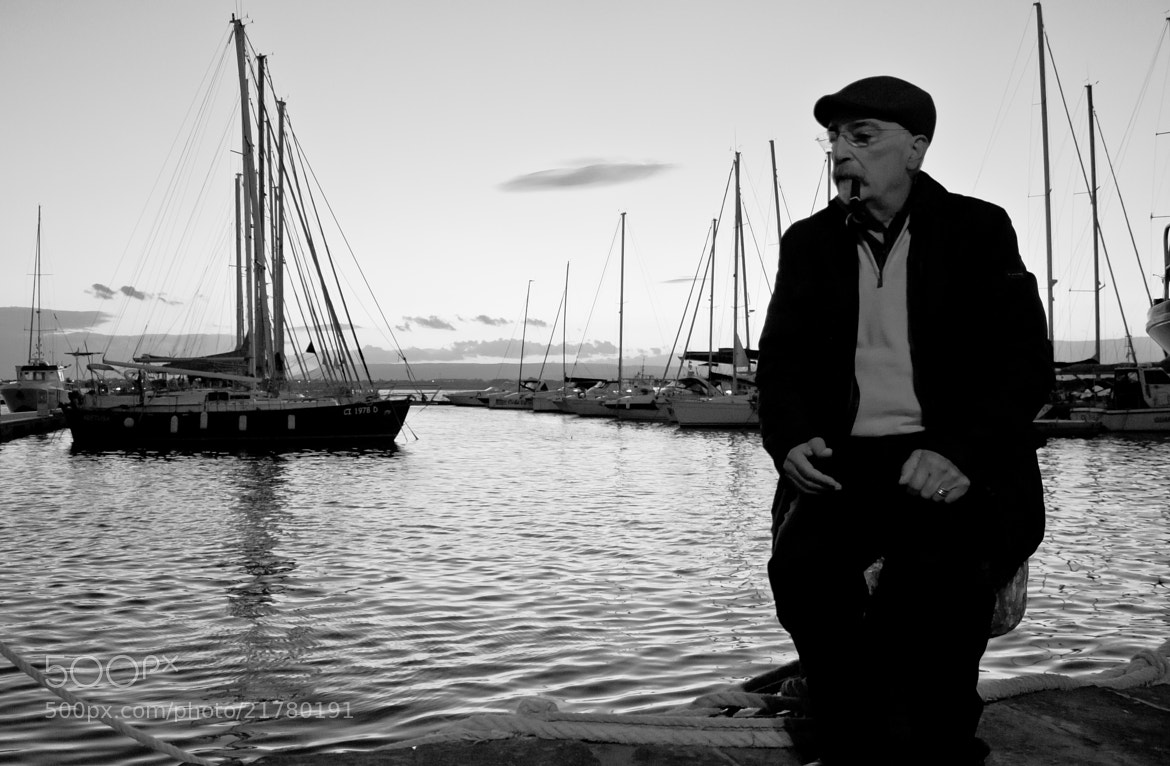 Photograph The man and the sea by Nadia Sardone on 500px