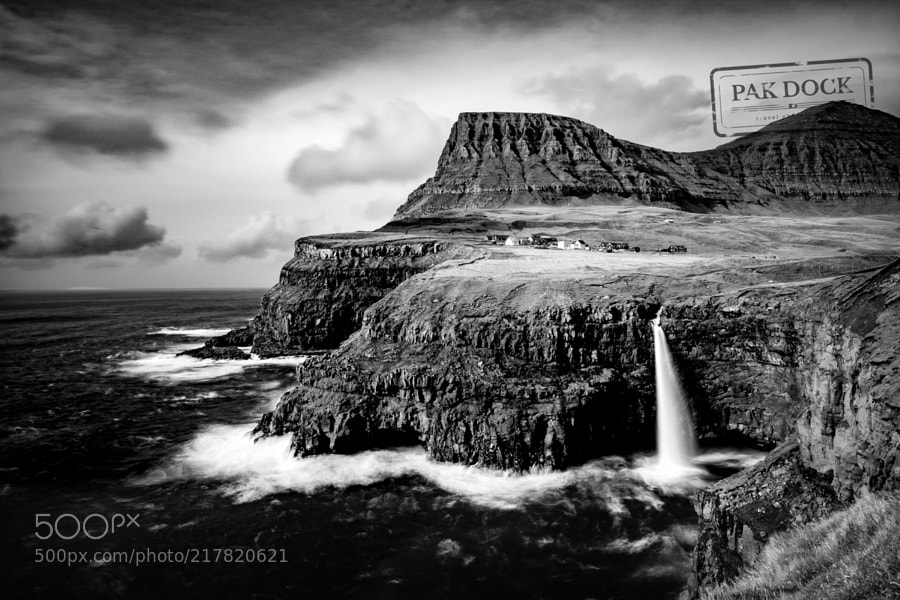 Gasadalur B&W - Faroe Islands