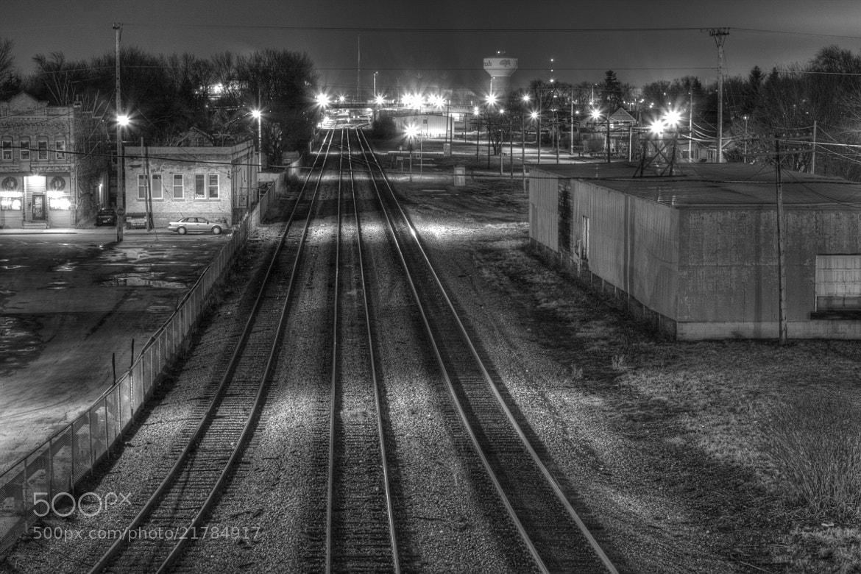Photograph Night Rails by Noah Saydel on 500px
