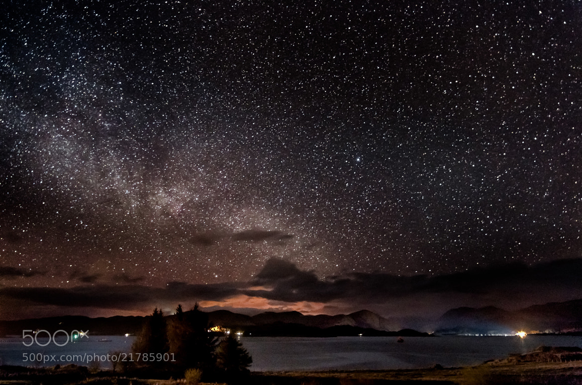 Photograph West Highland Starscape by John C. on 500px