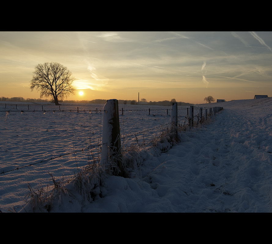 Photograph Winter sunset... by Cassius Photography on 500px