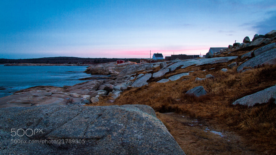 Peggy's Cove Sunrise