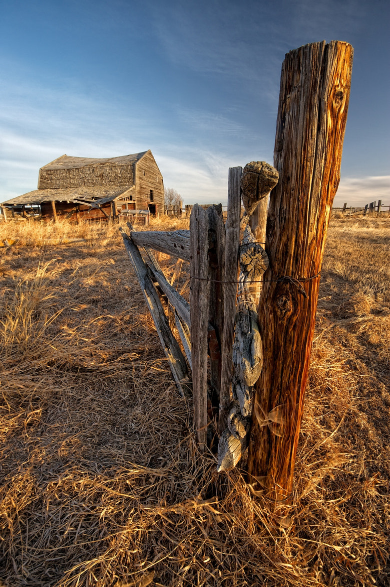 Photograph Fencepost at Sunrise by Michael James on 500px