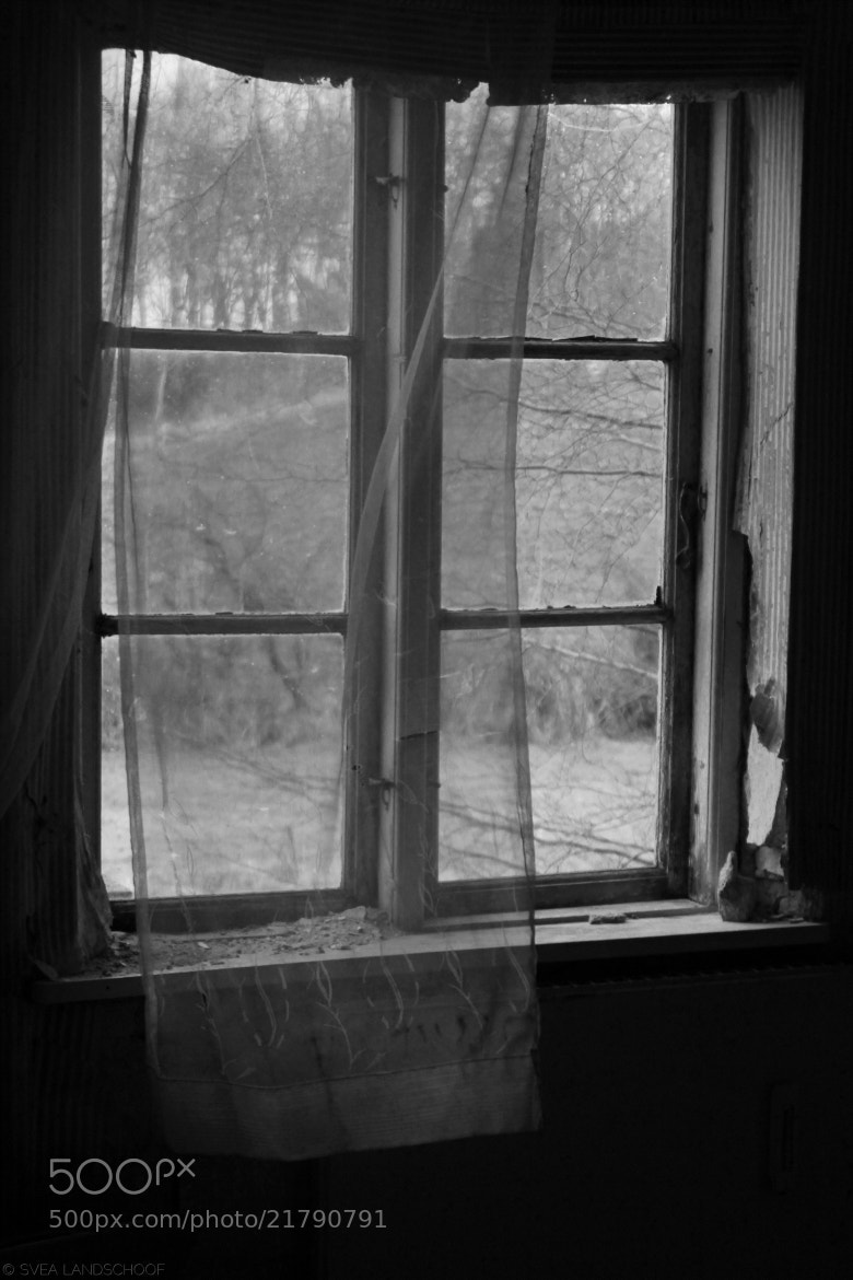 Photograph Spooky Window by Svea-Malina Landschoof on 500px