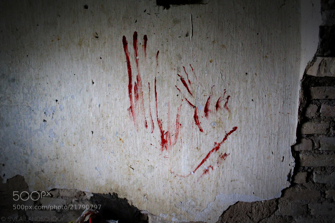 Photograph Blood at the Wall by Svea-Malina Landschoof on 500px