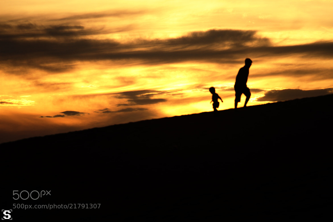 Photograph Silhouette // Father & Son by Nguyễn Trường Sơn on 500px
