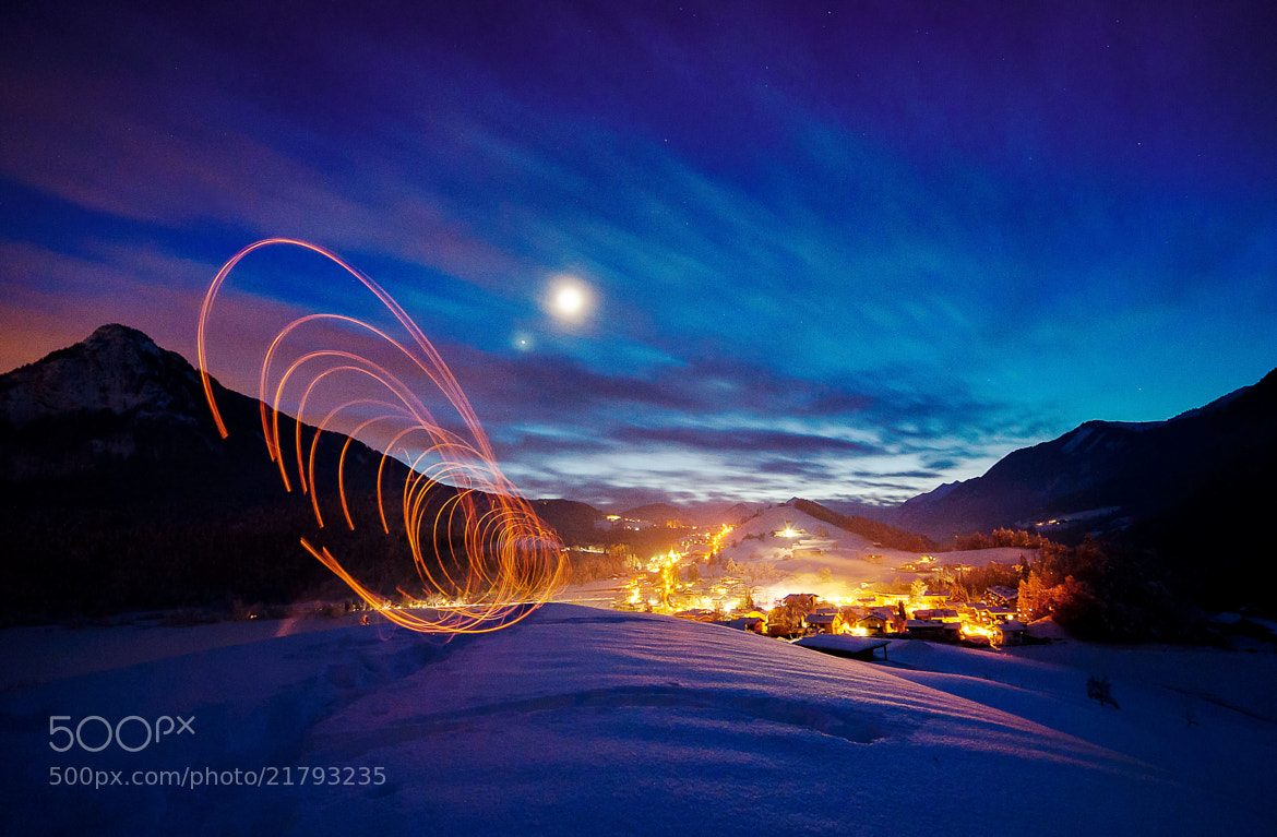 Photograph winter performance by Stefan Thaler on 500px