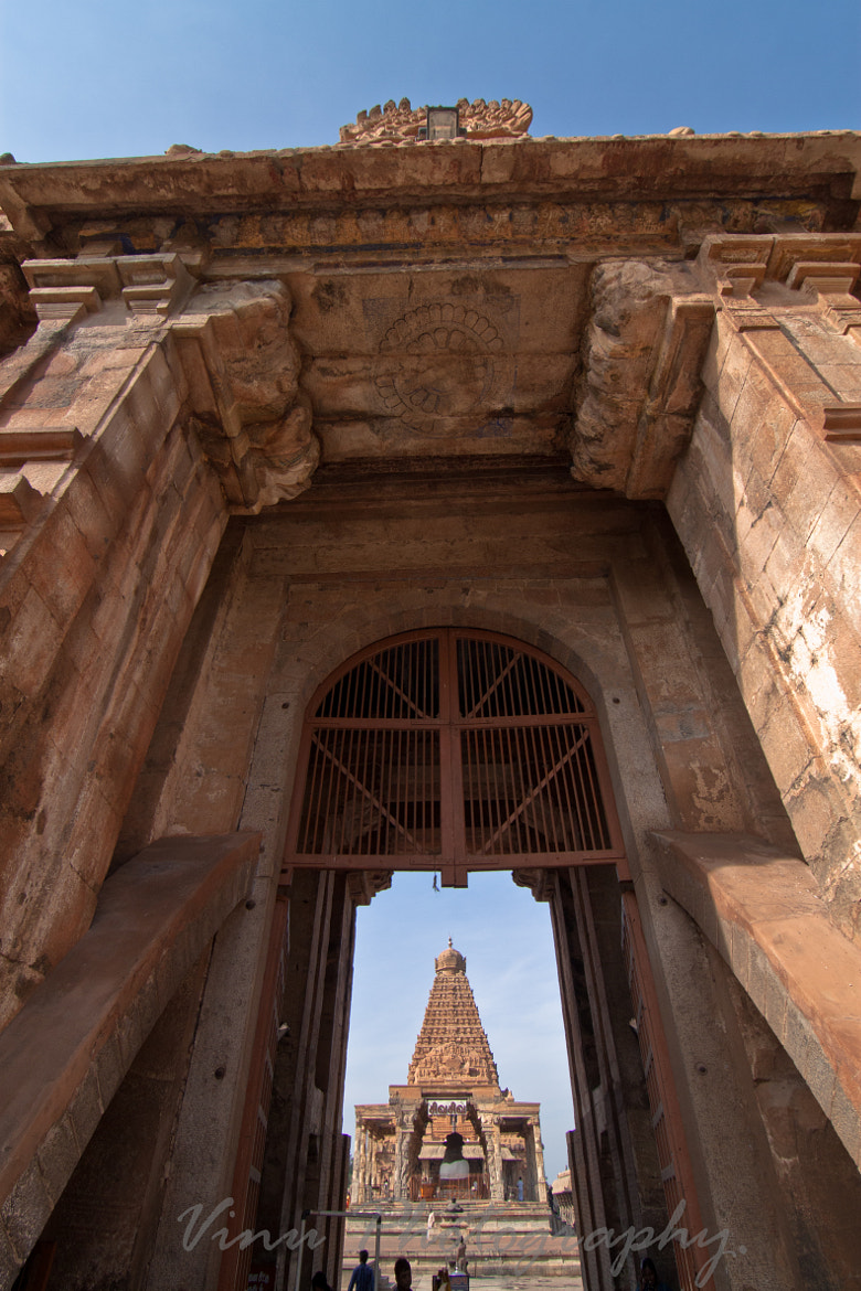 Photograph A View of the Big temple from the entrance by Vinu Padmanabhan on 500px