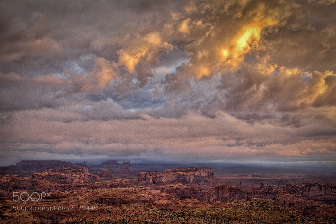 Photograph Night on Hunts Mesa I by Robert Arrington on 500px