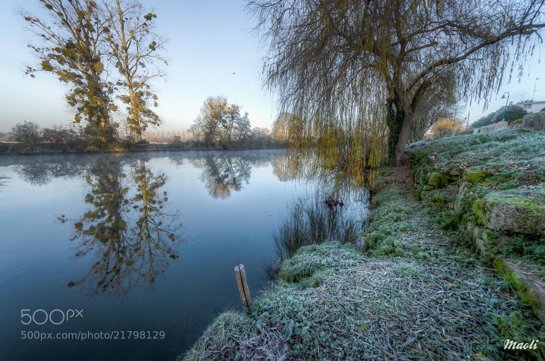Photograph Frozen landscape by Matthieu Olivier on 500px