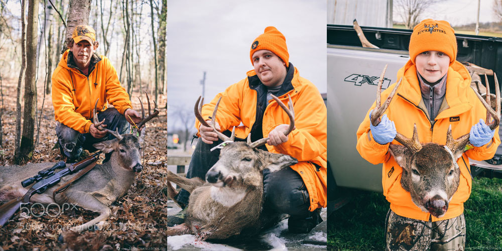 Photograph Blaze Orange - Wisconsin Deer Hunting by Travis Dewitz on 500px