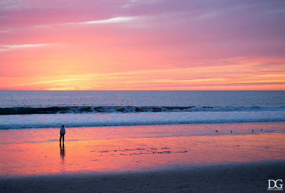 Photograph Sunset at the Santa Monica Pier by David Gueringer on 500px