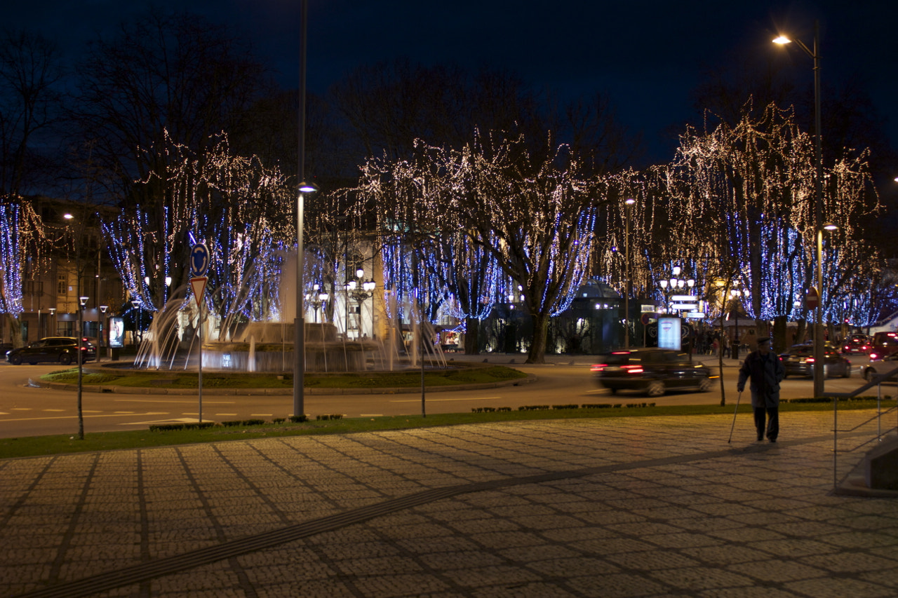 Photograph Viseu christmas light by Marco  Sousa on 500px