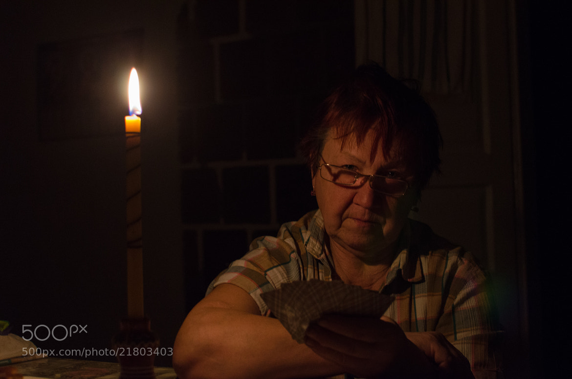 Photograph cards and candles by Denys Tsutsayev on 500px