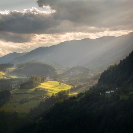 Alpendorf sunset