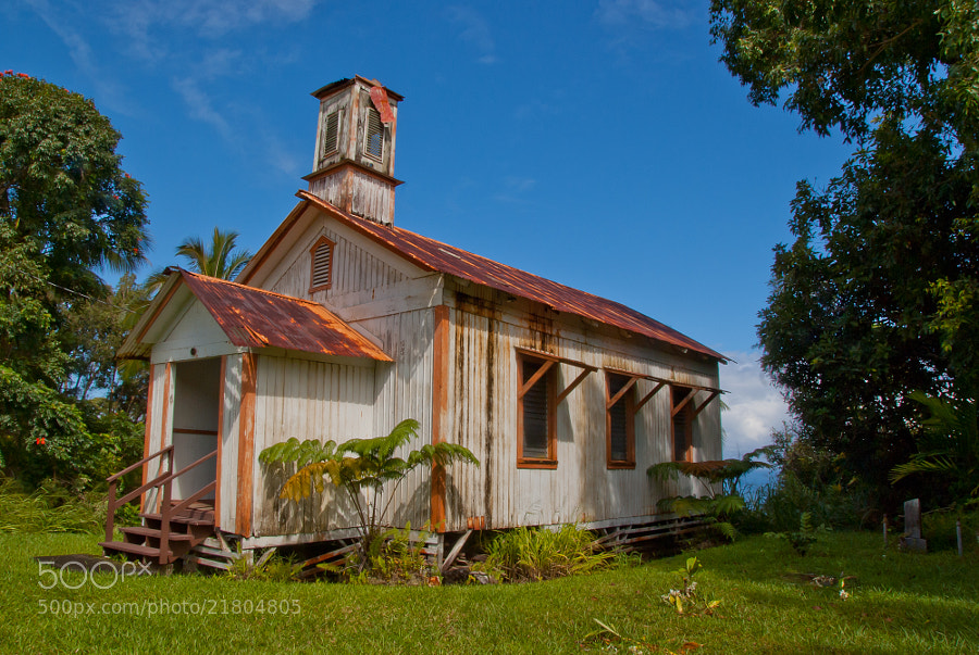 Photograph Big Island Church by Scott Hull on 500px