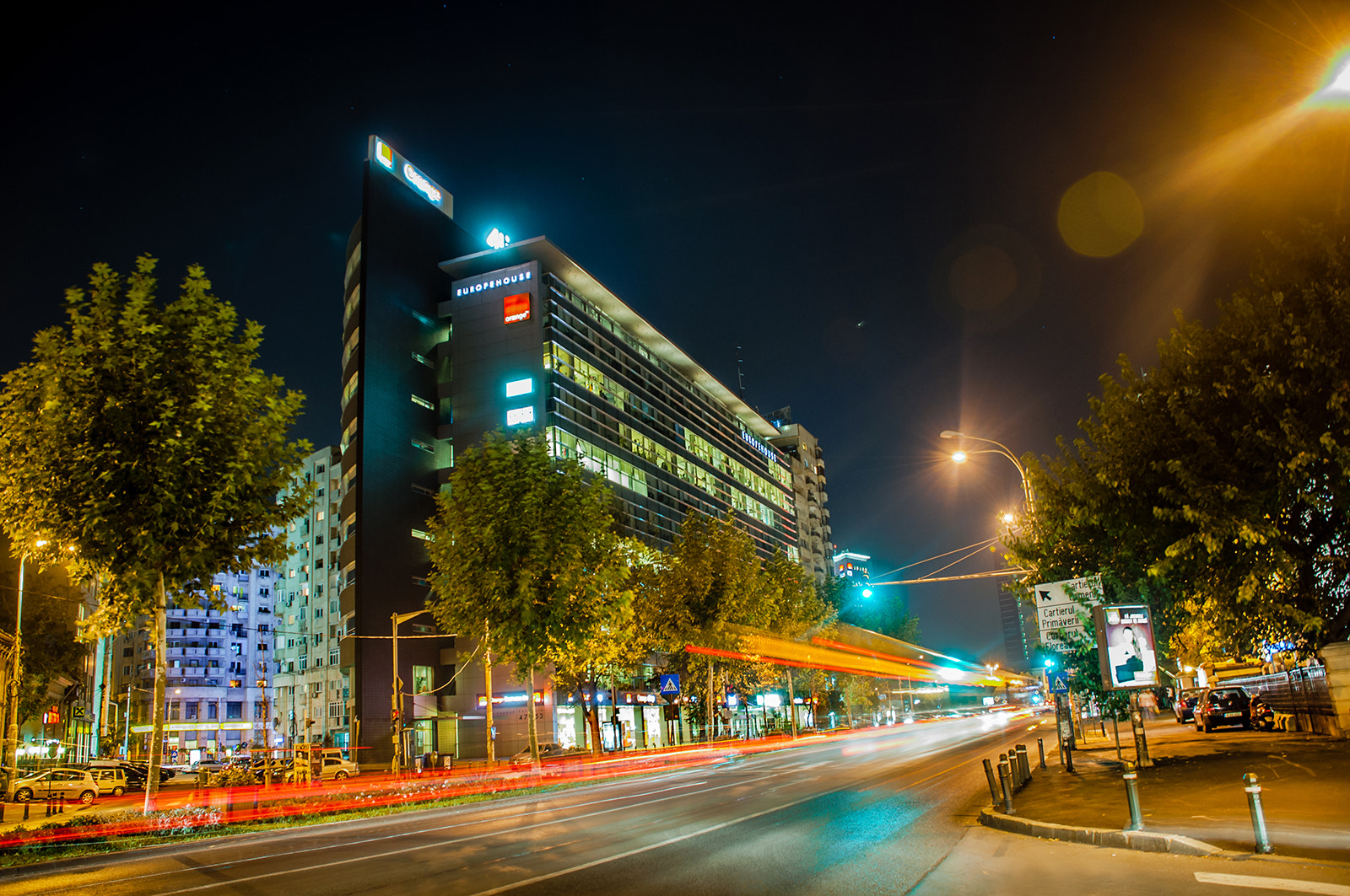 Photograph Nightlife in Bucharest by Ene Catalin on 500px