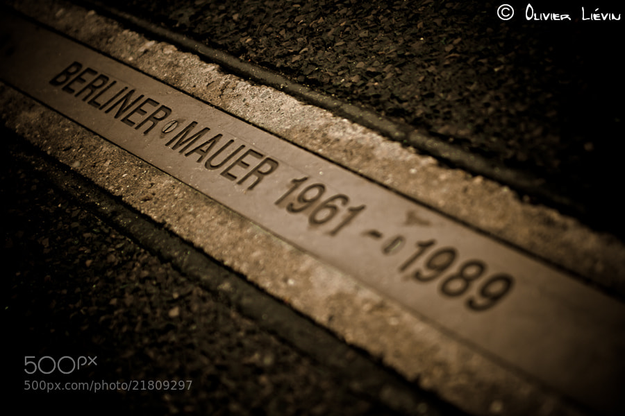 Photograph Berliner mauer by Olivier Liévin on 500px
