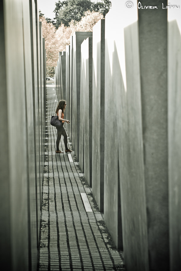 Photograph Holocaust Memorial by Olivier Liévin on 500px