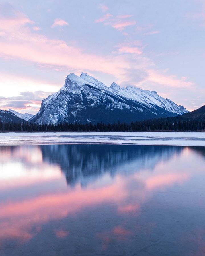 mt rundle. vermillion lakes. banff. alberta. Hey C ... by Tanner Wendell Stewart on 500px.com