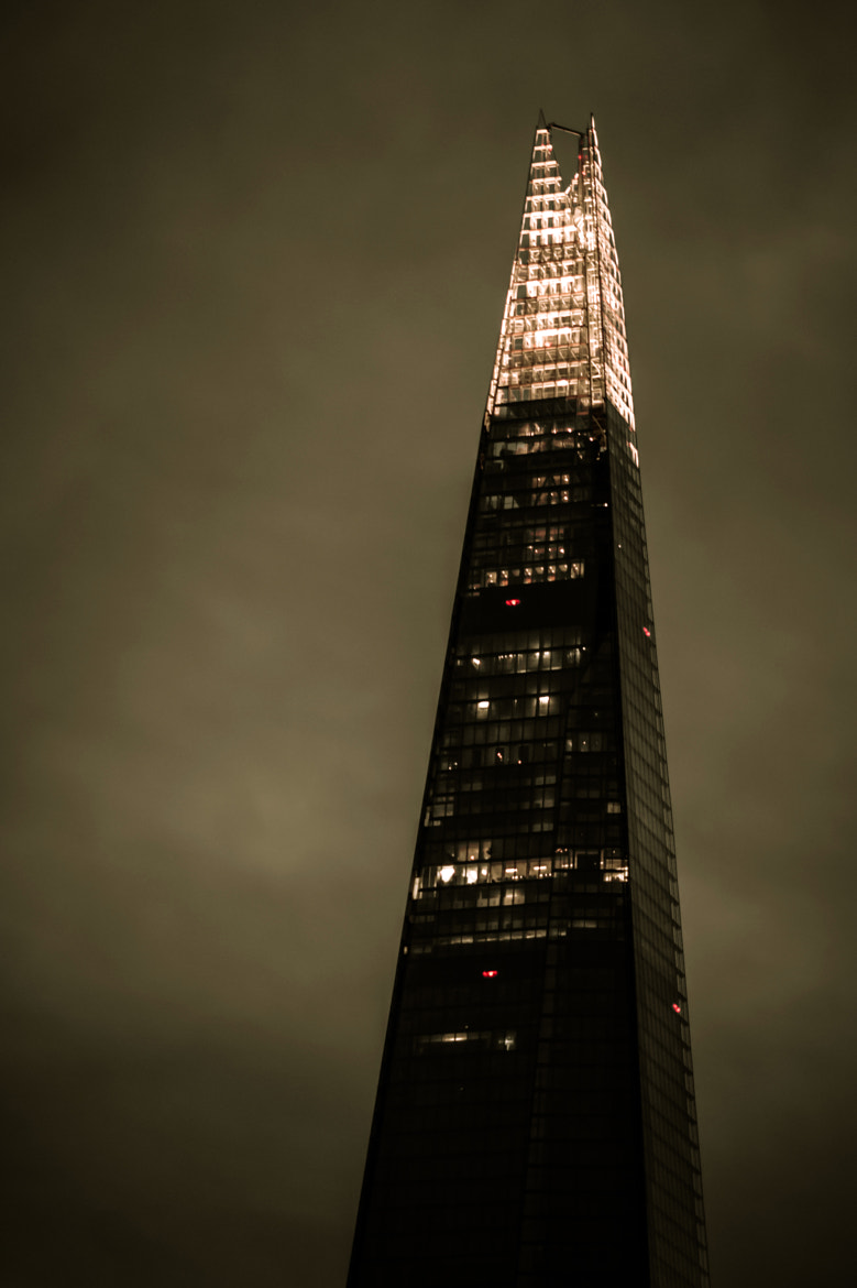 Photograph The Shard by Samuel Boivin on 500px