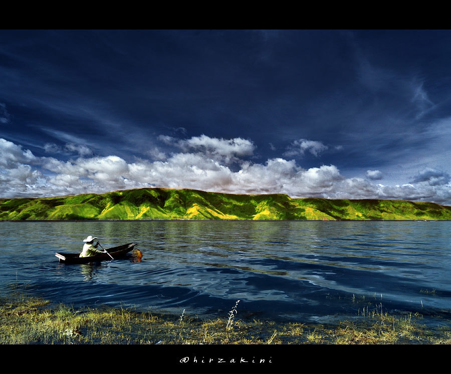 Photograph Toba's Fisherman by hirza kini on 500px