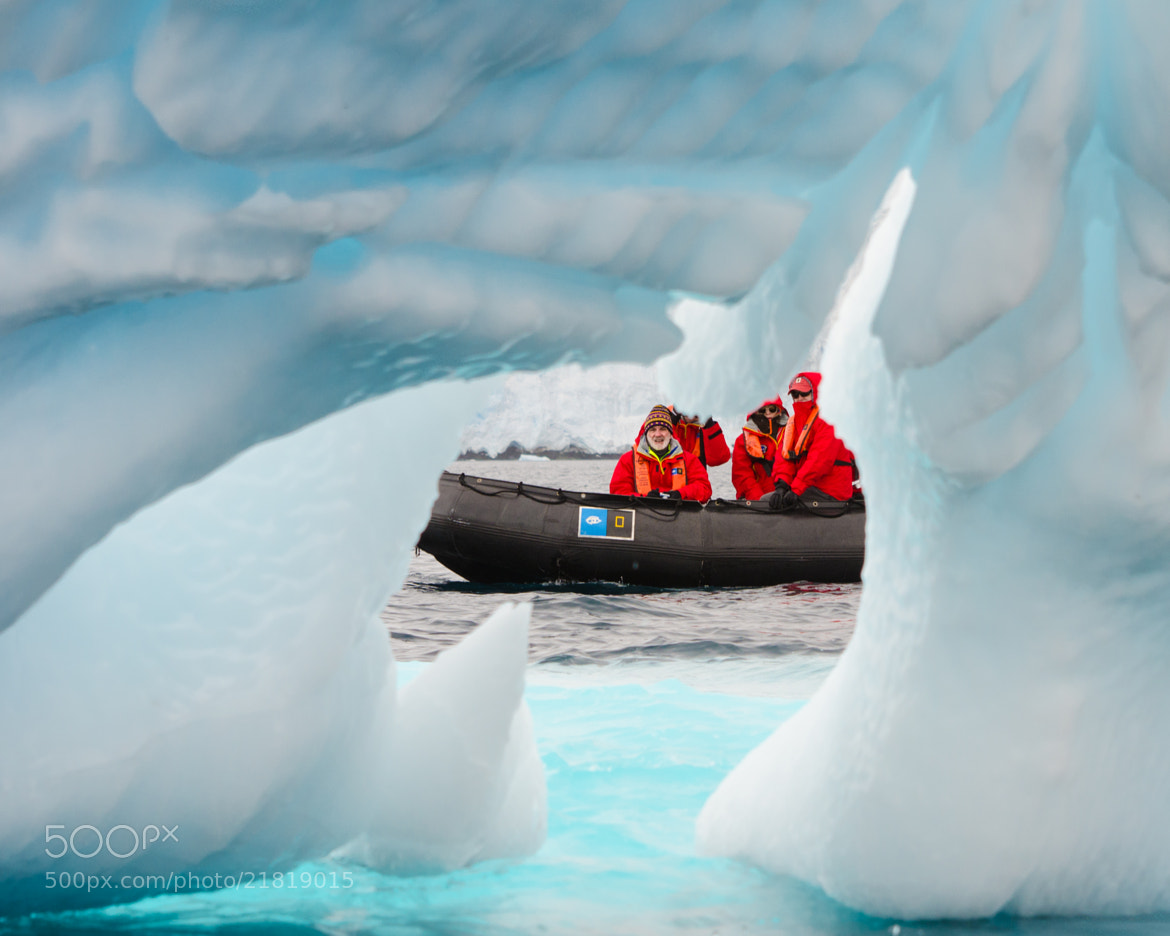 Photograph Antarctic Eye by Kyle Anstey on 500px