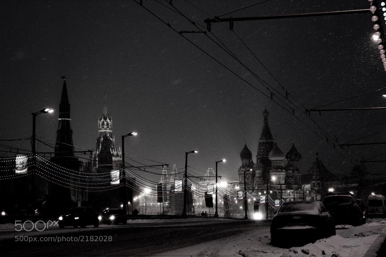 Photograph Winter. Snow. Moscow by Elena Smirnova on 500px