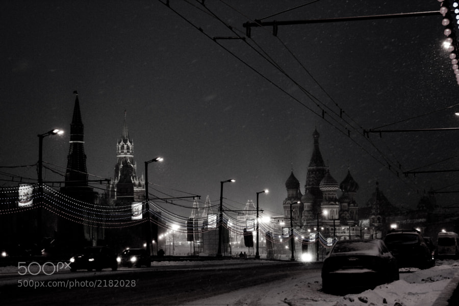 Photograph Winter. Snow. Moscow by Elena Smirnova on 500px