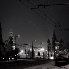 Winter. Snow. Moscow by Elena Smirnova (thissunnyday)) on 500px.com
